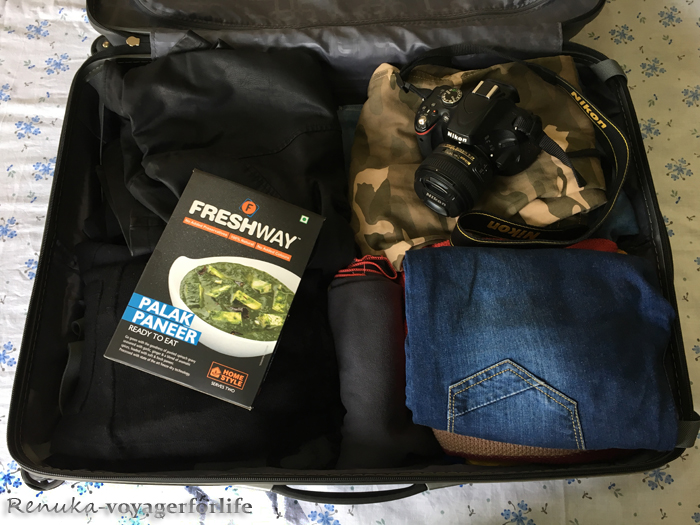 Packing guide for solo travellers