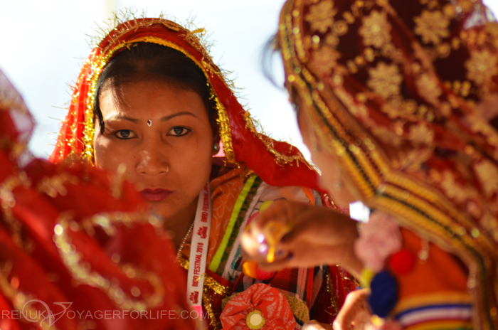 Tharu tribe women in Uttar Pradesh