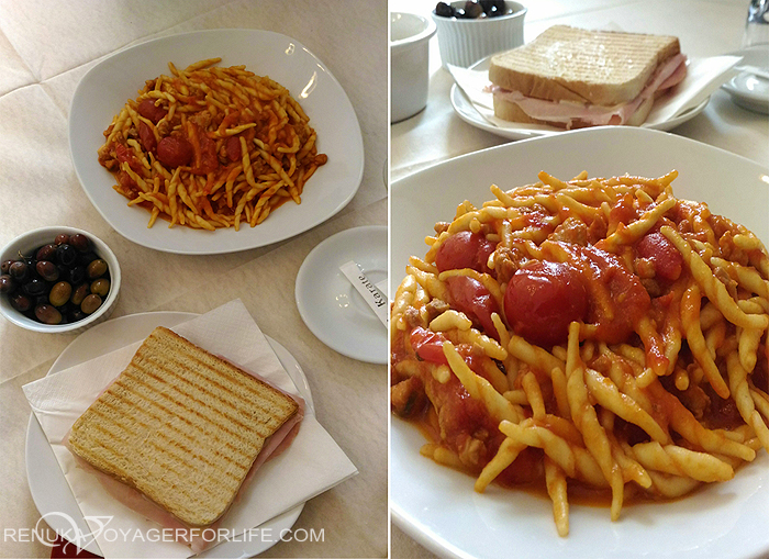 Cheapest food destination in Italy