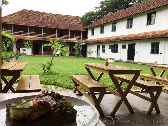 Heritage cafes in Kochi