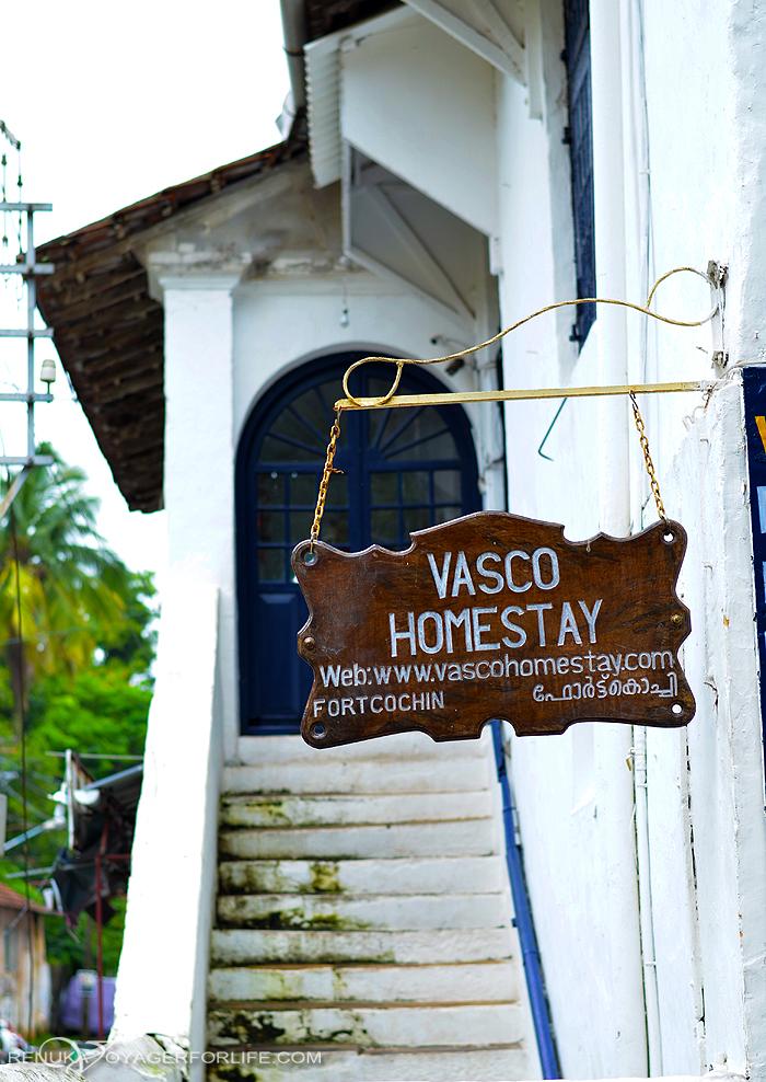 Homestays in Fort Kochi