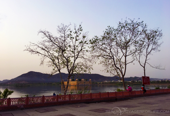 Jal Mahal in the morning