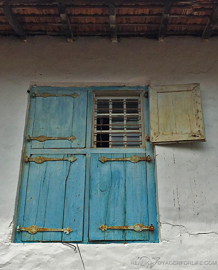 Old Windows of Jew Town Kochi