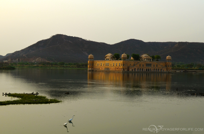 Jal Mahal seen from Trident Jaipur