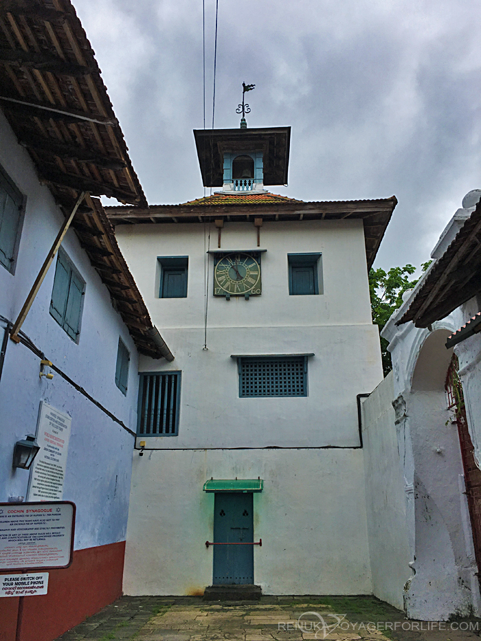 Paradesi Synagogue in Jew Town Kochi