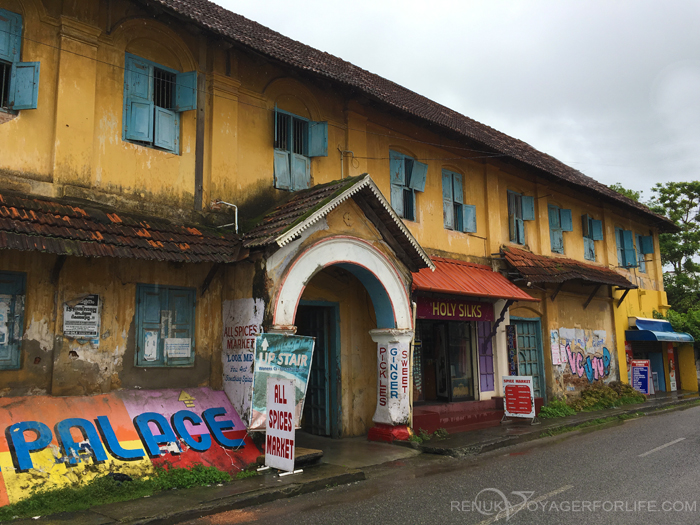 Old Spice Factory in Jew Town Kochi