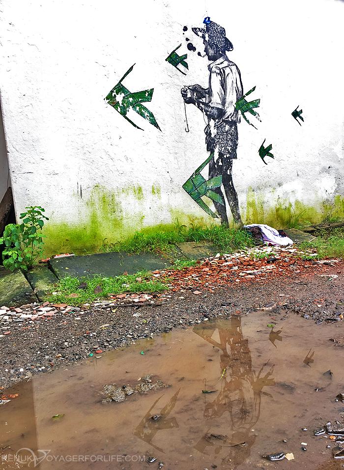Street art in Fort Kochi
