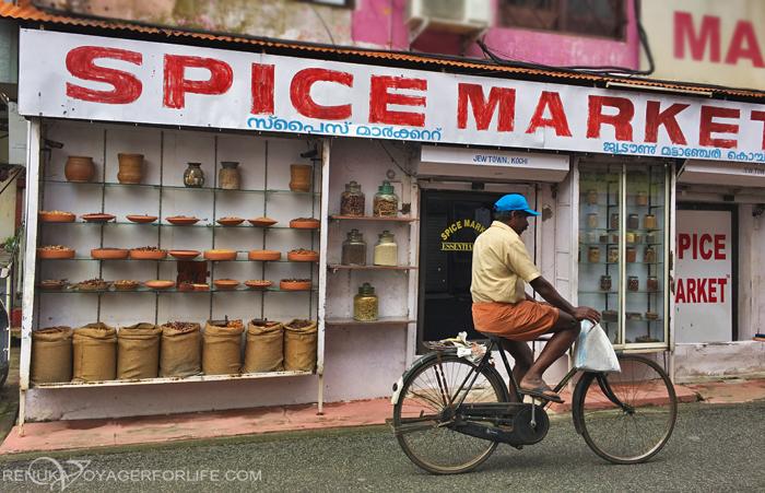 Spice market in Kochi