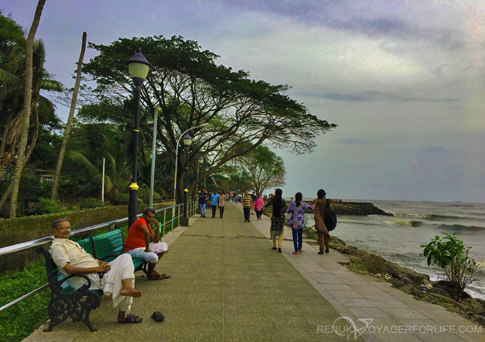Waterfront of Fort Kochi