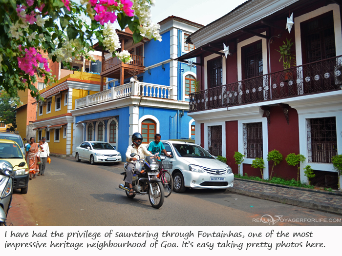 Fontainhas Goa photo