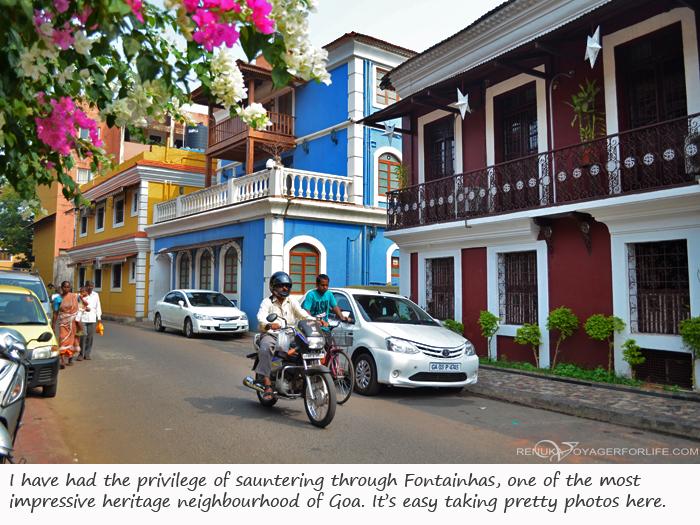Fontainhas Goa photo