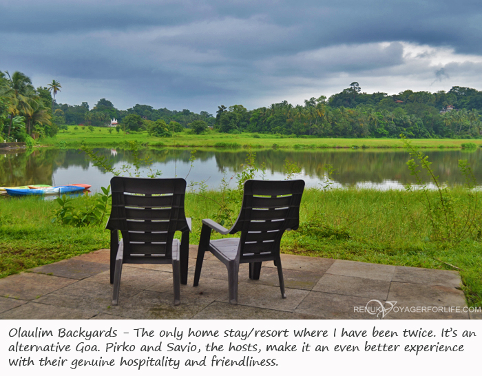 Offbeat places to stay in Goa