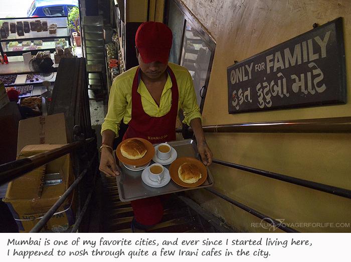 Photos of Irani cafes in Mumbai