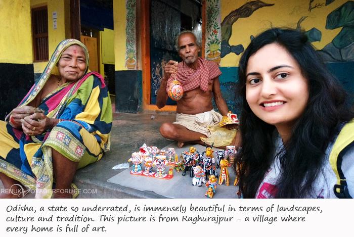 Raghurajpur village in Odisha