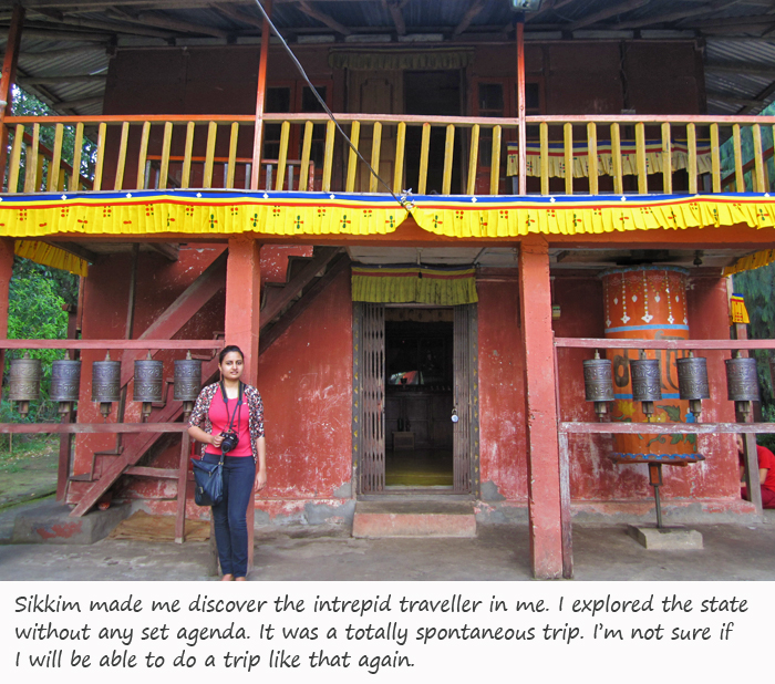 Solo travel in Sikkim