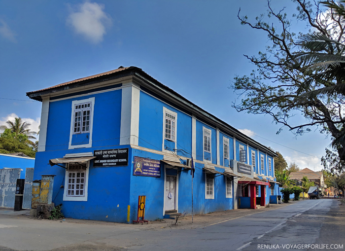 IMG-Colourful buildings of Daman